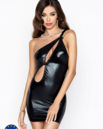 Эротические короткие черные мини платья