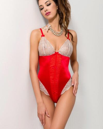Женские красные эротические боди
