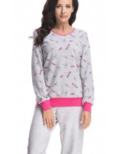 Женские пижамы с длинными рукавами