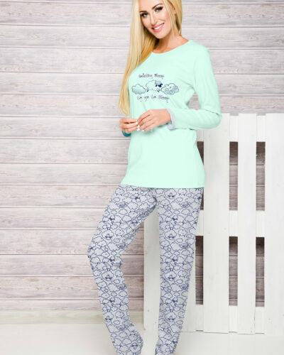 Женские зимние пижамы